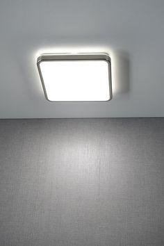ONTARIO stropní LED svítidlo 25W, 230V, nikl mat, SAPHO E-shop