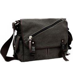Threeseasons Designer Zipper Men's Canvas Casual Shoulder Messenger Bag Bookbag BG165 (Grey Black) Threeseasons,http://www.amazon.com/dp/B00GIF4S0Y/ref=cm_sw_r_pi_dp_bBbBtb0RJ1HC0VHG