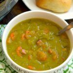 instant pot split pea soup recipe