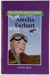 Real People. Real Stories. Amelia Earhart, activity book, $4.95