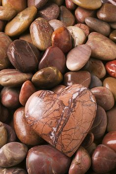 Stone Heart (Print By Garry Gay)
