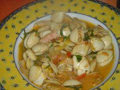 Receitas práticas de culinária: Amêijoas à moda da avó Ju