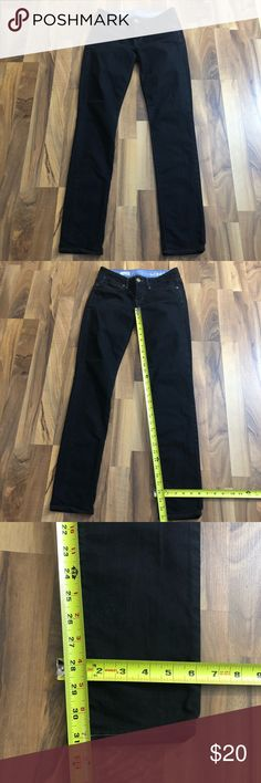 Gap 1969 Size 0 Always Skinny Black Jeans Jeggings This pair of skinny jeans size 0 is up for sale! Great condition! Cute!  ❤ Size tag is 25 / 0 ❤ Gap 1969 Always Skinny ❤ Black, EUC  ❤ Size Measured in Pictures 🔍📏   ✅ Bundle up items and save 💲✅  ❤️I love reasonable offers. ❤️ 🎉 Pair w/jewelry, acc. or shoes🎉 🆕 New items every week! 🆕  I'm a mama on a mission. I sell items online to support my 2 sons. Every purchase is important to us. 😘 GAP Jeans Skinny