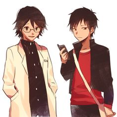 Shinra and Izaya