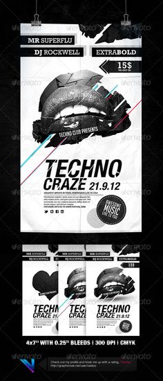 Alternative Flyer PSD  Template • Only available here ➝ http://graphicriver.net/item/alternative-flyer-3/3295854?ref=pxcr