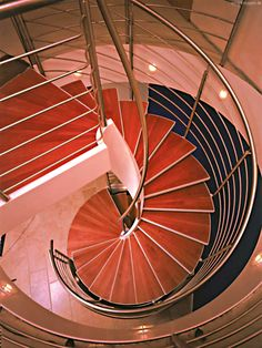 The World needs more Spiralstaircases  SMG Treppen Helitreppen HELI 1000 Treppe #treppenbau #stahltreppen #holztreppen #treppengeländer #stairs #escaleras Photo by #smgtreppen www.smg-treppen.de #wirdenkenmit