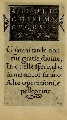 La operina di Ludouico Vicentino, da imparare di scriuere littera cancellarescha • 1480