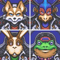 Star Fox SNES gif