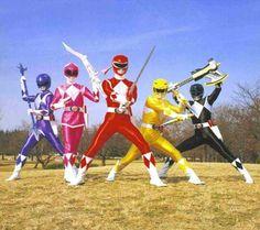 O.G Power Rangers! !!!
