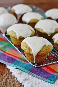 How gorgeous are these zucchini muffins? And anyone can make them because they start with a vanilla cake mix!