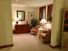 Sitting & Dressing Area-lower level