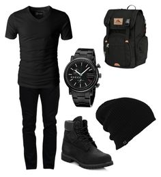 """Male Teen's First Day of School"" by cupcake0416 on Polyvore featuring Valentino, Timberland, Gucci, High Sierra, Burton, men's fashion and menswear"