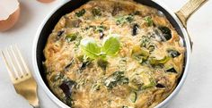 Koolhydraatarme recepten | Ontbijt Lunch Diner Snack | Jasperalblas.nl Air Fryer Recipes, Frittata, Quinoa, Love Food, Paleo, Food And Drink, Low Carb, Healthy Recipes, Healthy Food