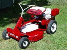 In the beginning 1979 or so this was what we started with , we were the ''Snapper Patrol''. Vintage Snapper mower.