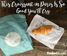 Paris is full of good croissants. In fact, I dare you to find a bad croissant there. However, la creme de la creme of croissants can only be found in one place.  #France #Paris #croissant #food #yum #Europe #travel