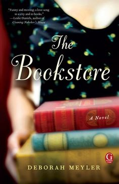 A charming debut. MINA'S BOOKSHELF review of THE BOOKSTORE by Deborah Meyler http://minadecaro.blogspot.com/2013/08/the-bookstore-by-deborah-meyler.html