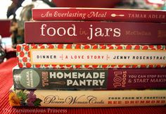 My Favorite Cookbooks of 2012 :: The Parsimonious Princess