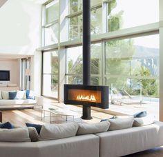 75 fantastiche immagini su stufa pellet design | Fire places, Range ...