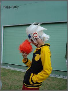 Soul Eater Evans cosplay