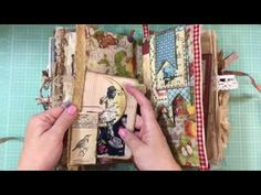 Part 2: Incoming Junk Journal Swap from Jenny Miller - YouTube