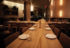 Má Pêche - Momofuku & David Chang with chef Tien Ho offer their renowned downtown French-Vietnamese expertise.