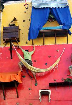 Best rock climbing wall ever