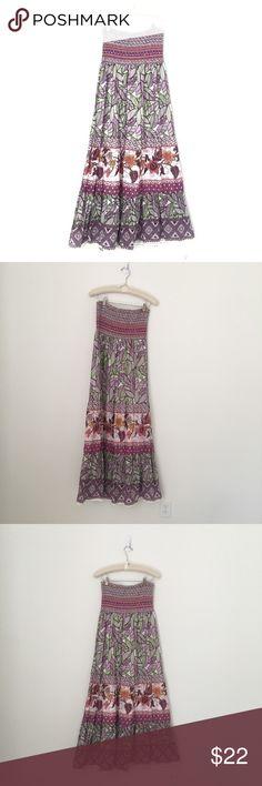 Forever 21 maxi dress Strapless maxi from forever 21 - like new Forever 21 Dresses