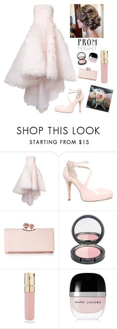 """""""Prom Queen"""" by kotnourka ❤ liked on Polyvore featuring Mikael D, Carvela, Ted Baker, Smith & Cult and Marc Jacobs"""