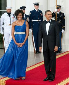 One of my favorite gowns of the FLOTUS