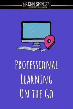 """I love the concept of """"Pajama PD."""" So, I want to explore what it might look like for us to engage in """"anytime / anywhere"""" professional learning. #CultofPedagogyPin"""