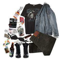 """sad and a little bit grunge"" by dxminica ❤ liked on Polyvore featuring art"