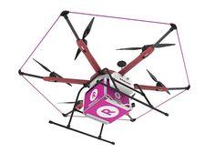 """Rakuten va lancer le 9 mai """"Sora Raku"""", un service de livraison avec des drones pour les consommateurs. La première zone d'application dans..."""