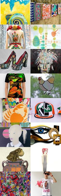 Psychedelic Vibrations by 3buu on Etsy--Pinned with TreasuryPin.com