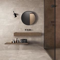 Storm Sand Floor & Wall Tiles - Beige stone effect floor & wall tiles for a bathroom. It's an inspiring interior design idea for your home or even for an exclusive hotel. It looks very classy, bright and luxurious. Bathroom Design Inspiration, Modern Bathroom Design, Bathroom Interior Design, Interior Inspiration, Bathroom Goals, Bathroom Sets, Small Bathroom, Minimal Bathroom, Beige Bathroom