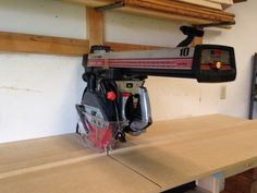 Radial Arm Saw Upgrades and Work Station - by dgaiken @ LumberJocks.com ~ woodworking community