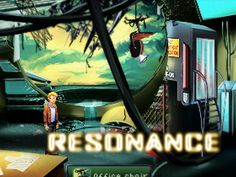 Resonance by Omaha's own http://xiigames.com/.  retro pixel feel of the sierra point'n'click games of the 80s and 90s.