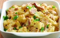 Cauliflower & Turkey Bake Recipe - Bernard Matthews