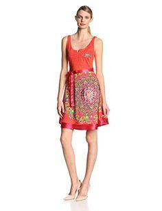 In Offerta! #Offerte Abbigliamento#Buoni Regalo   #Outlet Desigual - Argentina Vestito, senza maniche, donna, Multicolore (Mehrfarbig (Fiesta)), M disponibile su Kellie Shop. Scarpe, borse, accessori, intimo, gioielli e molto altro.. scopri migliaia di articoli firmati con prezzi da 15,00 a 299,00 euro! #kellieshop #borse #scarpe #saldi #abbigliamento #donna #regali
