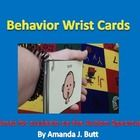 You will receive 6 Behavior Cards that are great to use with students who are nonverbal, hearing impaired, or have Autism.  Wear the Behavior cards...
