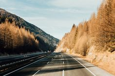 Mountain Highway | Wintertime Hills of Austria