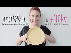 Massa de Tarte- Técnicas Básicas de Pastelaria #6 - YouTube Mini Tortillas, Bolo Youtube, Sweet Pie, Cooking Videos, Sweet Recipes, Camembert Cheese, Cake Decorating, Deserts, Sweets