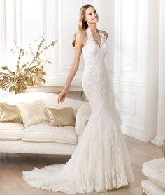vestidos de novia cogido al cuello - Cerca amb Google