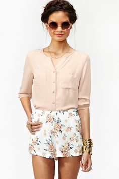 Summer Rose Shorts