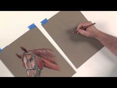 Learn How to change the color of a Horse in Colored Pencil with Mark Menendez and http://ArtistsNetwork.tv