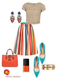 A fashion look from June 2016 featuring beige shirt, multi color skirt and gianvito rossi shoes. Browse and shop related looks. Legging Outfits, Cute Outfits With Leggings, Cute Leggings, Skirt Outfits, Chic Outfits, Fashion Outfits, Womens Fashion, Fashion Trends, Casual Chic