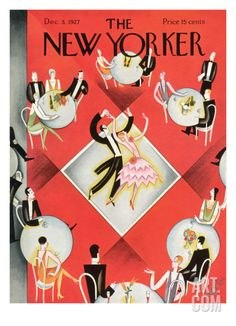 The New Yorker Cover - December 3, 1927 by Constantin Alajalov. Premium Giclee Print from Art.com, $157.00