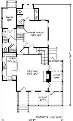 98 Best Narrow House Plans images | Narrow house plans ... Narrow House Plans With Water View on narrow lakefront house plans, narrow lot floor plans, narrow lot cottage house plans, narrow houses floor plans,