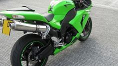 Kawasaki ZX10R 2006-2007  Polished Stainless round ROAD LEGAL MTC Exhausts #MaxTorqueCans