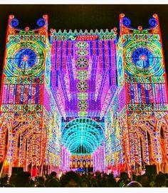 La Festa delle luci Santa Domenica SCORRANO LECCE PUGLIA ITALIA Ogni anno 5*9 Luglio