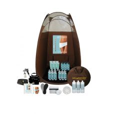 Are you starting a mobile business and need the perfect traveling spray tan kit? Or are you looking for a sunless system to use at home? Whether you are a mobile business or someone looking for a personal airbrush system, this package has all you need to get started.  CURRENTLY ON SALE! Check website for details. www.solpotion.com